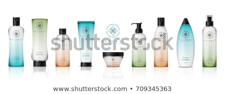 Shampoo Bottle, Gel Or Conditioner Set Vector Stock photo © pikepicture
