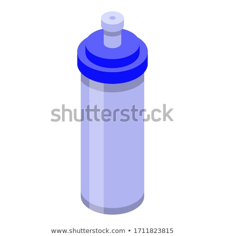 Sport Energy Drink Bottle isometric icon vector illustration Stock photo © pikepicture