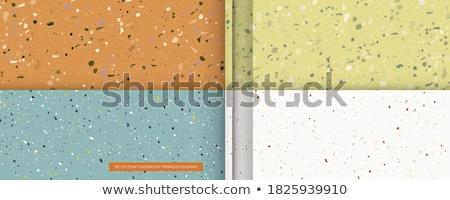 blue terrazzo pattern tiles texture background design Stock photo © SArts