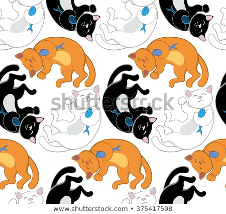 китайский · удачливый · кошки · лапа - Сток-фото © sahua
