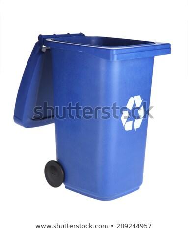 Open Recycling bin  Stock photo © place4design