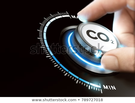 Carbon dioxide illustration Stock photo © icefront