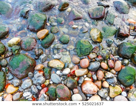 A large stack of colorful beach stones. Stock photo © latent
