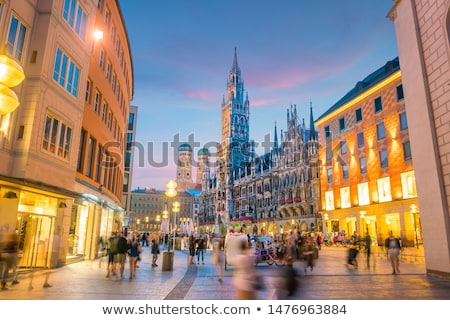 The Rathaus of Munich Stock photo © Spectral
