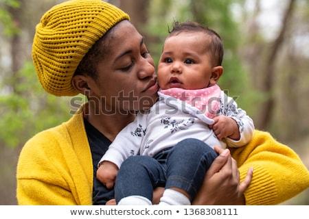ethniques · mère · bébé · heureux · Shopping · asian - photo stock © ampyang