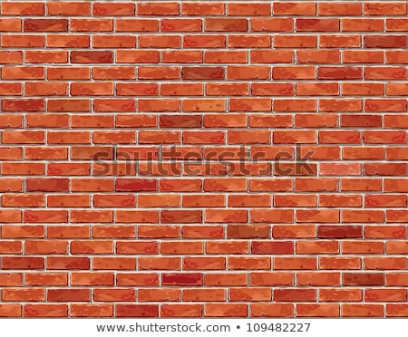 Closeup of new brick wall  Stock photo © yoshiyayo