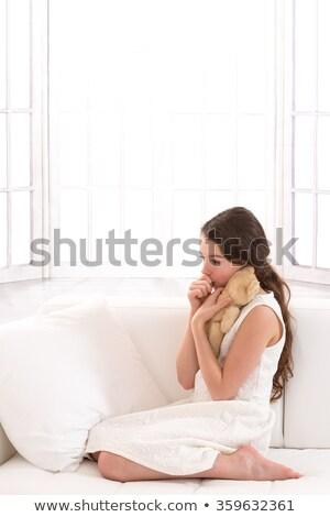 Child sucking her thumb Stock photo © photography33