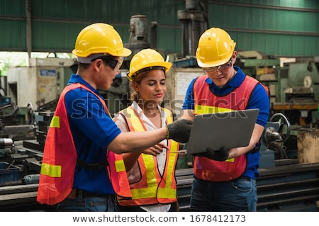 A team of labourers Stock photo © photography33