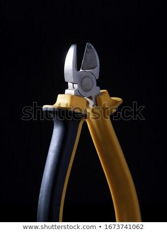 közelkép · lövés · drót · kéz · kábel · tárgy - stock fotó © photography33