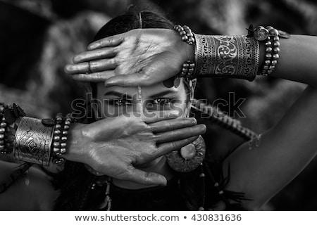 close up of amazon woman stock photo © carlodapino