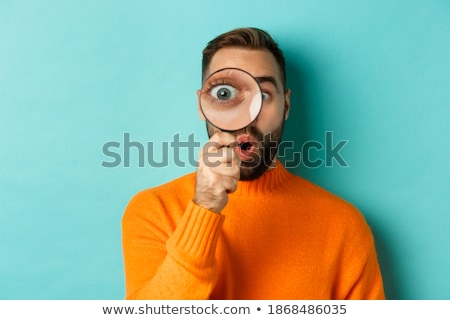inteligentes · detective · retrato · curioso · nino · graduación - foto stock © photography33
