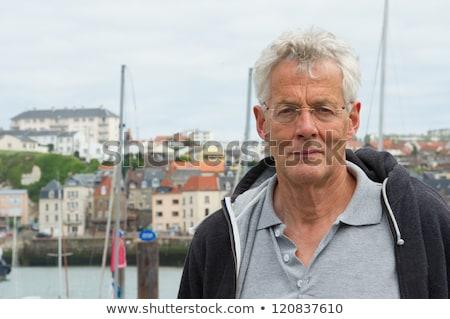 French coast village Dieppe with harbor Stock photo © ivonnewierink