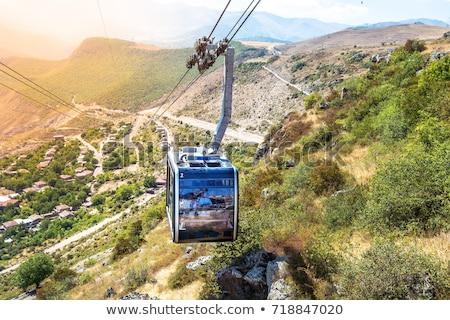 Ropeway in Armenia Stock photo © ruzanna