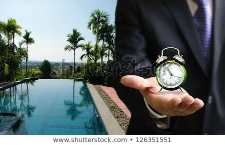 時間 色 言葉 クロック 黒板 お金 ストックフォト © Ansonstock
