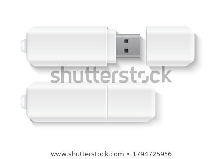 Villanás hordozható modern lámpa fotó stúdió Stock fotó © jarp17