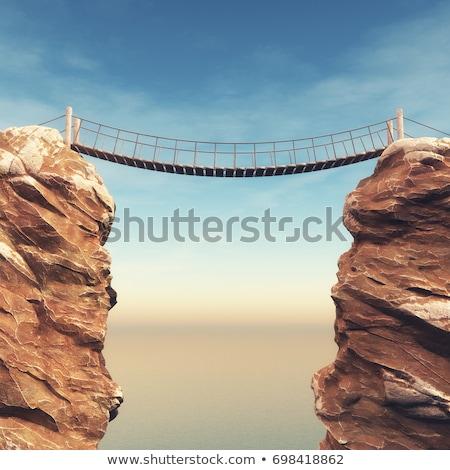 Сток-фото: риск · старые · веревку · текстуры · безопасности · безопасности