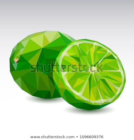 geometric abstract lime color pattern stock photo © ikopylov