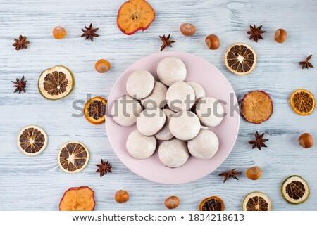 traditional german lebkuchen gingerbread cookies Stock photo © Rob_Stark