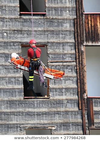 Stock fotó: Vészhelyzet · testmozgás · segítség · szállítás · mentés · felszerlés
