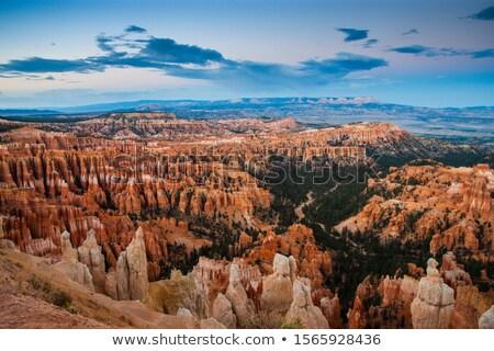 Kanyon fa amfiteátrum nyugat USA Utah Stock fotó © weltreisendertj