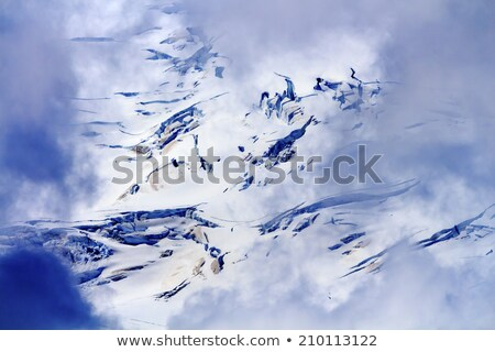 Mount Baker Snow Mountain Close UP from Artist Point Washington  Stock photo © billperry