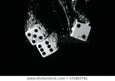 three dices falling stock photo © lupen