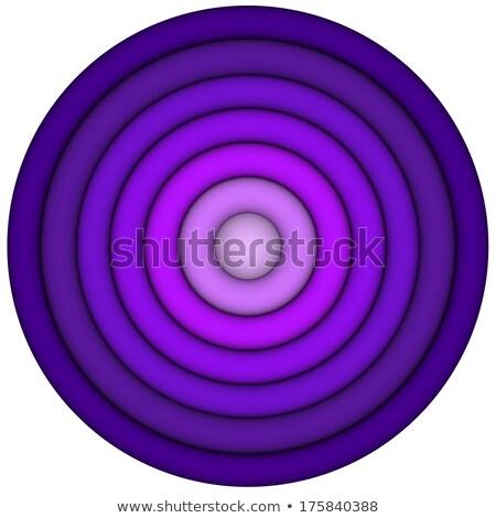 3d concéntrico tuberías múltiple púrpura magenta Foto stock © Melvin07