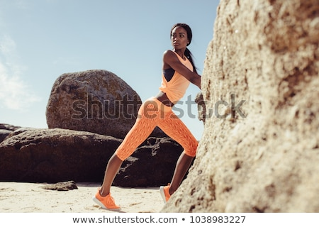 Lean and fit. stock photo © lithian