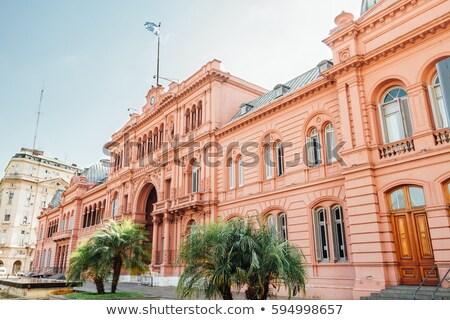 argentín · zászló · Buenos · Aires · ház · épület · város - stock fotó © leetorrens