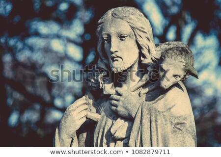 statue of jesus stock photo © nejron