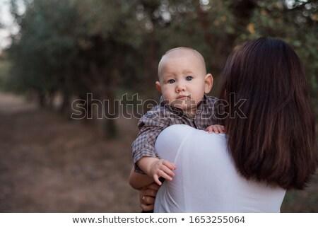 счастливым · смеясь · красивой · ребенка · красочный - Сток-фото © mlyman