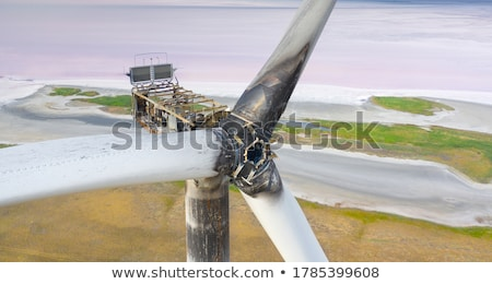 turbine · construction · industrielle · machine · gaz · moteur - photo stock © ddvs71