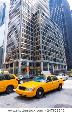Avenue of Americas 6th Av Manhattan New York Stock photo © lunamarina
