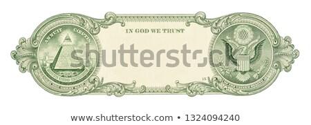 Washington · portret · een · dollar · Bill · macro - stockfoto © cosma