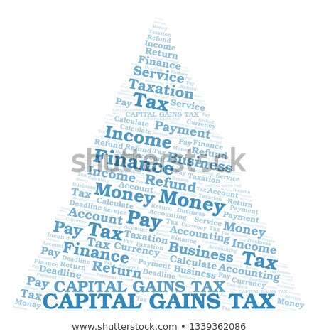 Capital gain word cloud Stock photo © tang90246