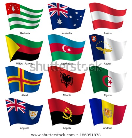 Abkhazia flag World flags Collection  Stock photo © dicogm