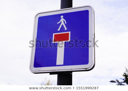 Blind alley roadsign Stock photo © olandsfokus