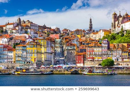 Scenic view of Porto city Stock photo © Elnur