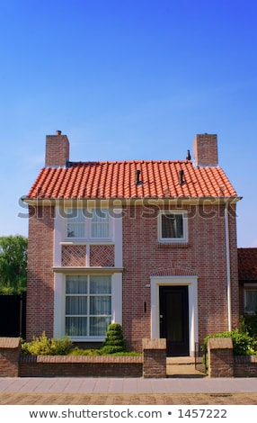 front view of cosy little house stock photo © master1305