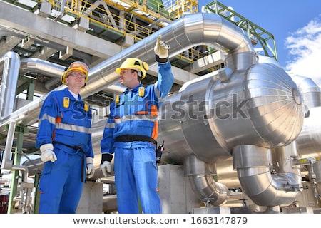 Fuel production refinery  Stock photo © mady70