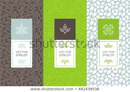 vector seamless tea background stock photo © freesoulproduction