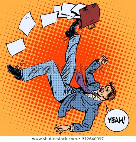 Zakenman portefeuille business succes goede werknemer Stockfoto © studiostoks