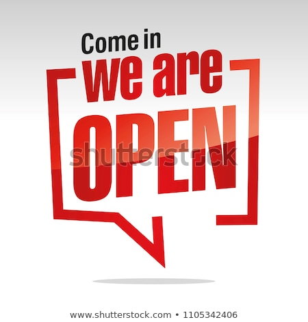 Open message Stock photo © fuzzbones0