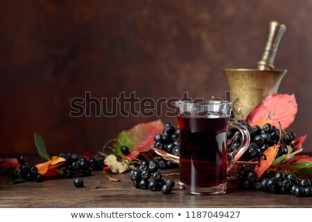 Aronia or black chokeberry Stock photo © stevanovicigor