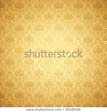 vintage background with elegant retro floral design stock photo © morphart