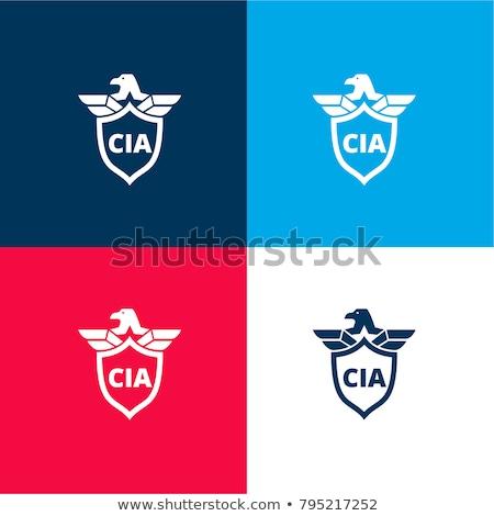 CIA Shield Stock photo © Bigalbaloo