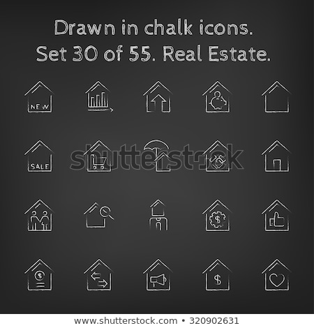 verde · casa · valor · casa · valores · precios - foto stock © rastudio