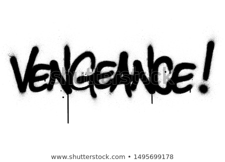 Graffiti arte pared resumen punk concepto Foto stock © rendixalextian