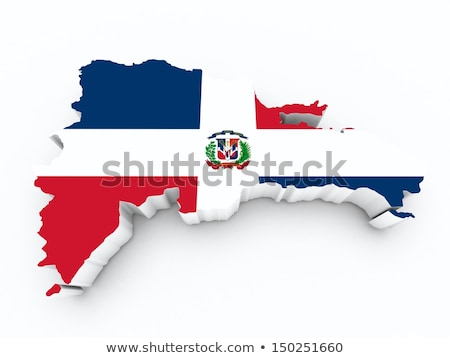 United Kingdom and Dominican Republic Flags Stock photo © Istanbul2009