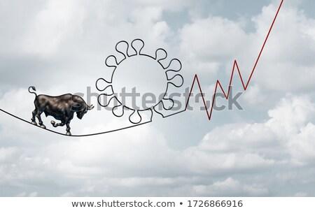 pad · winst · business · persoon · lopen · weg - stockfoto © lightsource
